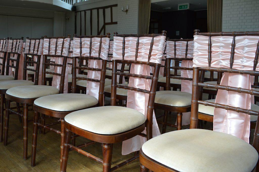 Mahogany Chiavari Chair Seckford Hall Hotel Woodbridge Suffolk
